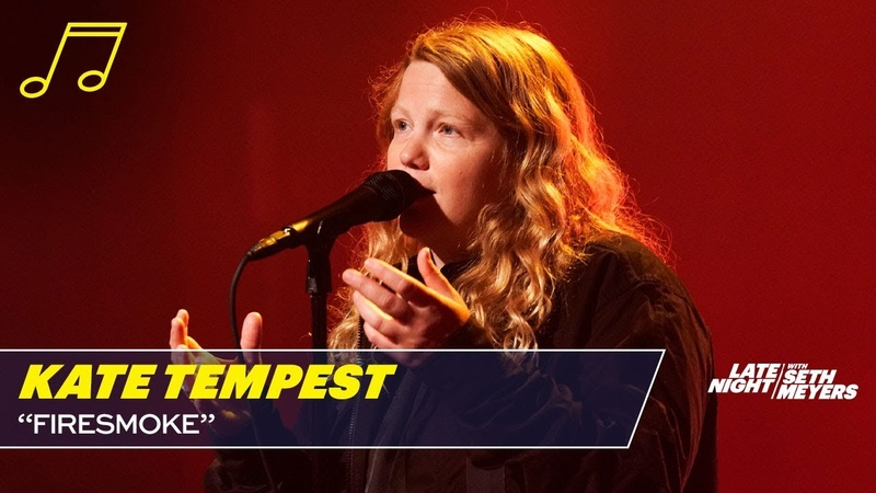 Kate Tempest - Firesmoke (Late Night with Seth Meyers)