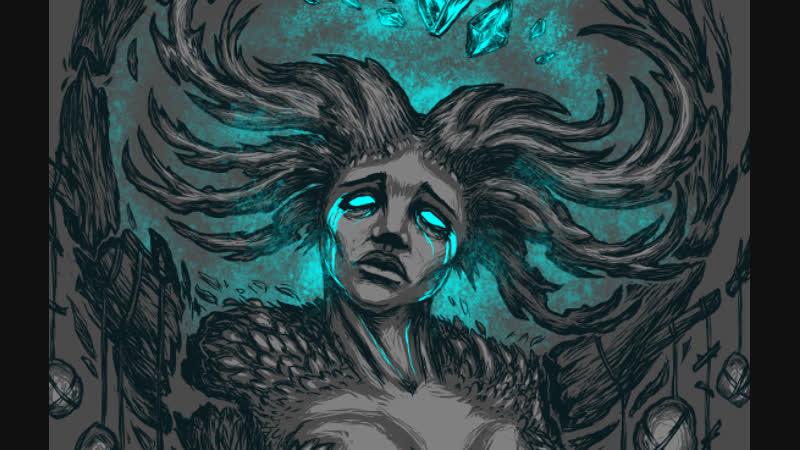 Nympf's Death -- Krita timelapse by Jack Finch