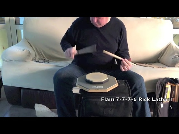 Rick Latham Odd Time Snare 7-7-7-6 Rudimental Exercise