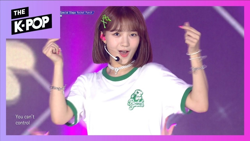 [200th Stage] ROCKET PUNCH, Russian Roulette(Original song Red Velvet) [THE SHOW 190820]