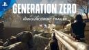 Generation Zero Announcement Trailer PS4