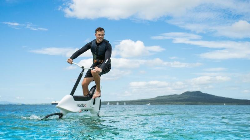 Manta5 Hydrofoiler XE-1 || BIKE ON WATER