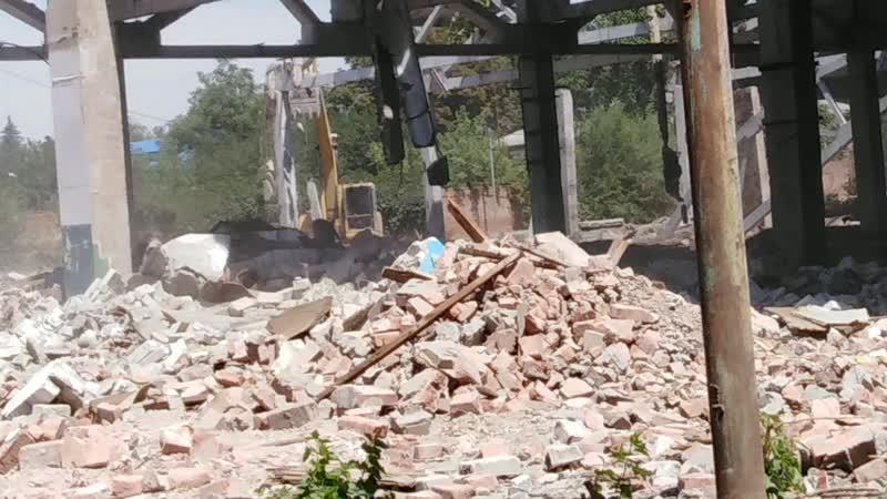 Ломаем завод в Зернограде 😱😱😱