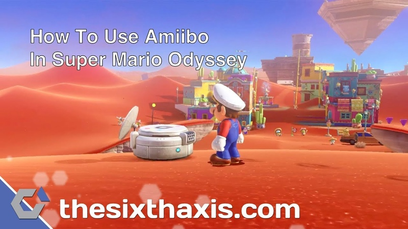 How To Use Amiibo In Super Mario Odyssey What They Unlock