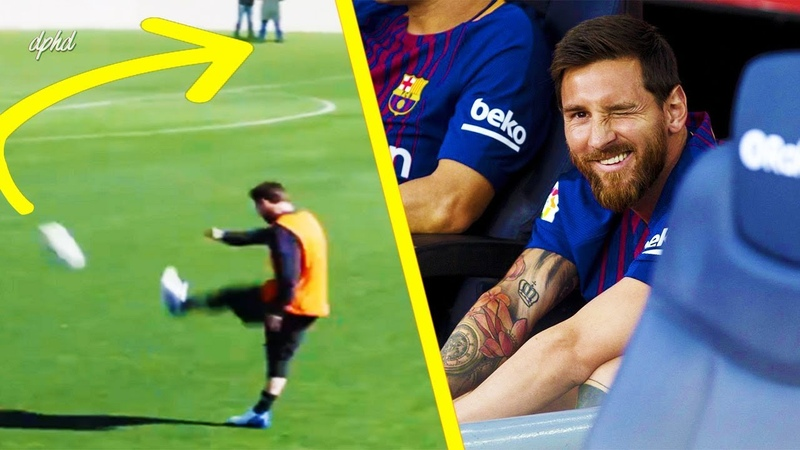 10 Impossible Cheeky Things Only Lionel Messi Can Do ● Is He Alien Or Human? HD