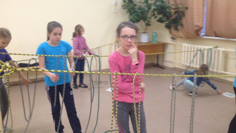 Соревнования по вязанию узлов 3 тур на сложность