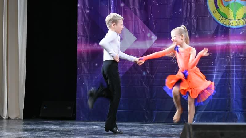 Дуэт Кирилл и Настя.ГармонияКурск.