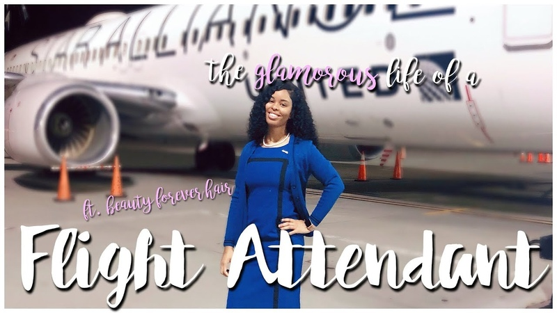 5am check ins are FUN lol | The GLAMOROUS Life of a Flight Attendant | ft. Beauty Forever Hair
