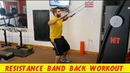 Resistance Band Back Workout - Do it anywhere!