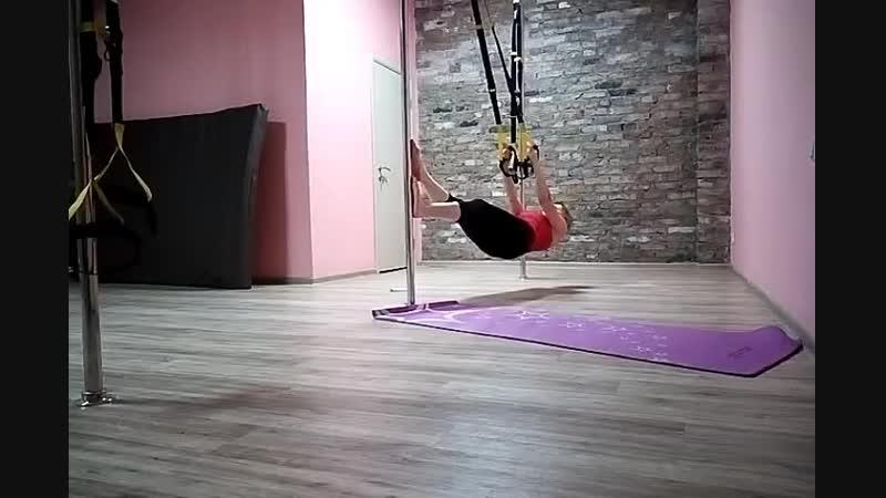 Pole fitness. Ольга Буря