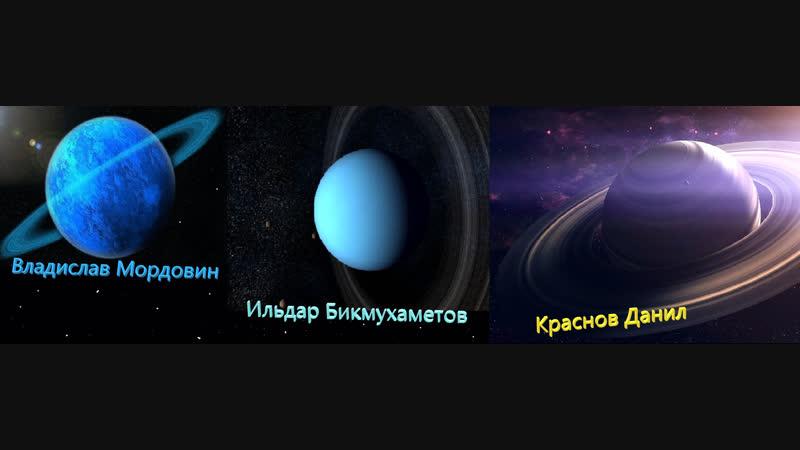 Астрономия, про Сатурн, Уран , Нептун.