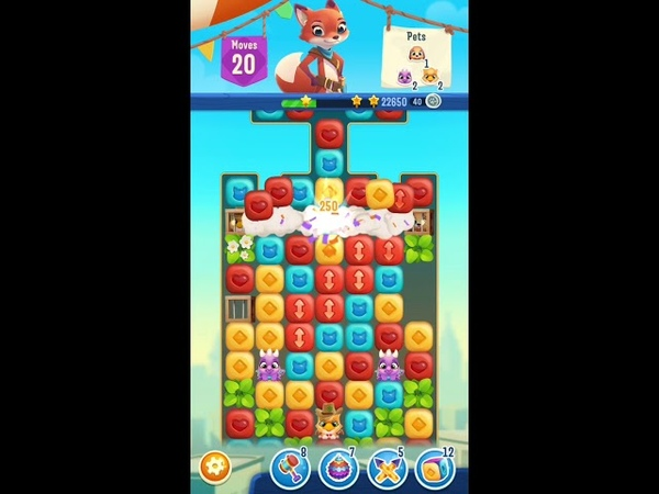 Pet Rescue Puzzle Saga Level 261 Gameplay iOS Android