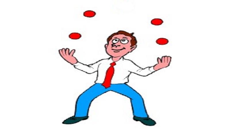 Жонглирование 4 мячами ч 4
