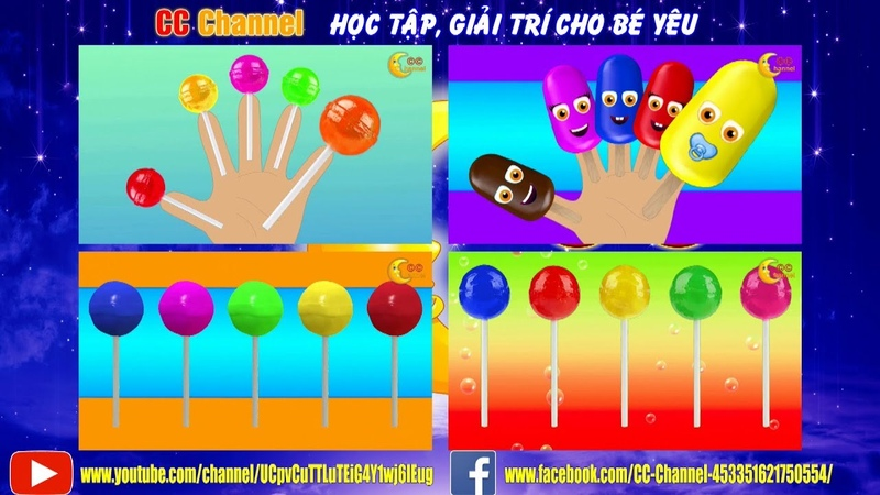 CC Channel - Video Giải Trí, Giáo Dục Trẻ Em   Collection 2 - Finger Family (DEMO)