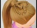Прическа детям на средние волосы
