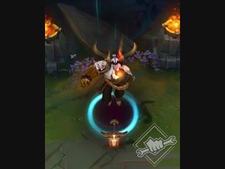 Тизер образа: Кровавая луна Атрокс – престижное издание | League of Legends