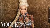 Teyana Taylors Epic Versace Getting-Ready Ritual Vogue