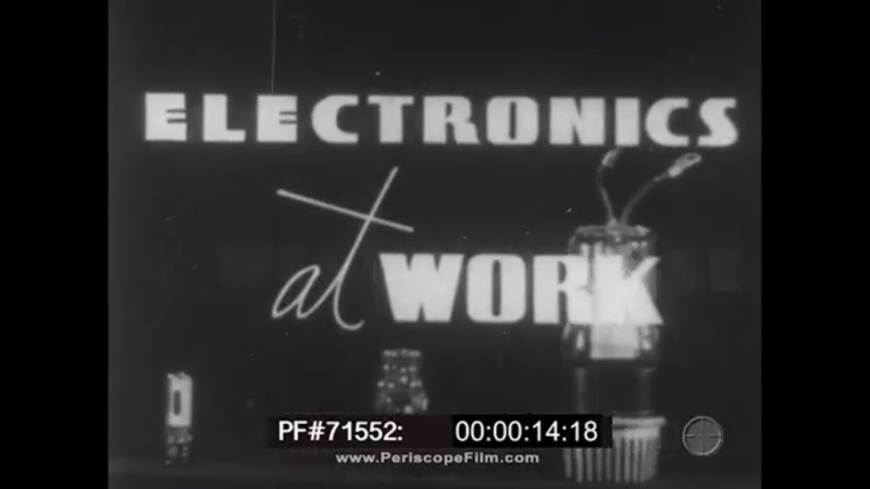 VACUUM TUBE ELECTRONICS AT WORK 1940s WESTINGHOUSE PROMOTIONAL FILM 71552 смотреть онлайн без регистрации
