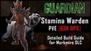 Stamina Warden Build 60k DPS Murkmire DLC