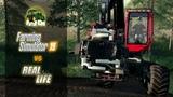 Farming Simulator 2019 FS 19 GAME vs. REAL LIFE NEW GAMEPLAY KOMATSU