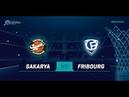 LIVE 🔴 - Sakarya BSB v Fribourg Olympic - Qualif. Rd. 3 - Basketball Champions League 18-19