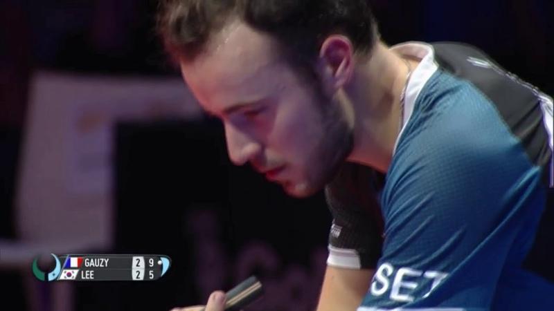 Lee Sangsu vs Simon Gauzy | 2018 ITTF Mens World Cup Highlights ( R16 )