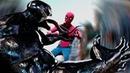 VENOM vs Spider-man - EPIC Fight Scene (2018) - Tom Hardy vs Tom Holland
