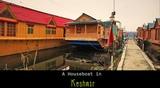 A Houseboat in Kashmir