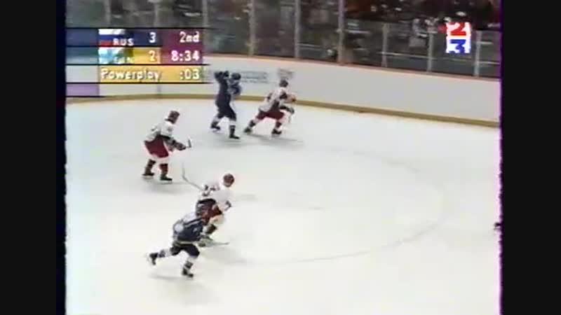 Russia-Finland2nd.period Nagano 1998