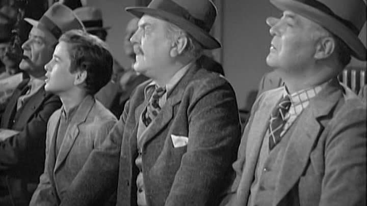 Richard Thorpe_1938_El Gong de la Victoria (Robert Taylor, Edward Arnold, Frank Morgan, Maureen O'Sullivan, William Gargan, Lionel Stander, Jane Wy...