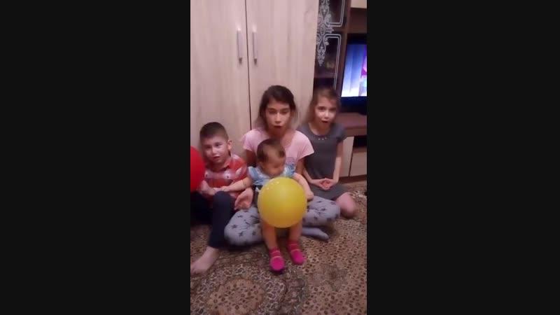 Привет из Рыбинска ,спасибо любимые!Горжусь своей подругой,многодетная мамочка, замечательная ,красивая ,душевная ,родная Расима