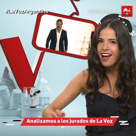"""La Voz Argentina on Instagram """"🎤 ¿Qué opina @candemolfese de los jurados de LaVozArgentina 🤔 ¿A quién le tiene más fe @ricardomontaner, @sole_p..."""