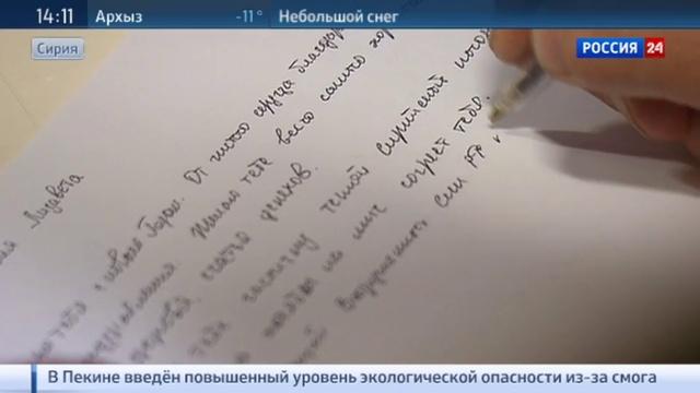 Новости на Россия 24 • Российские военные в Сирии отпраздновали Новый год по московскому времени