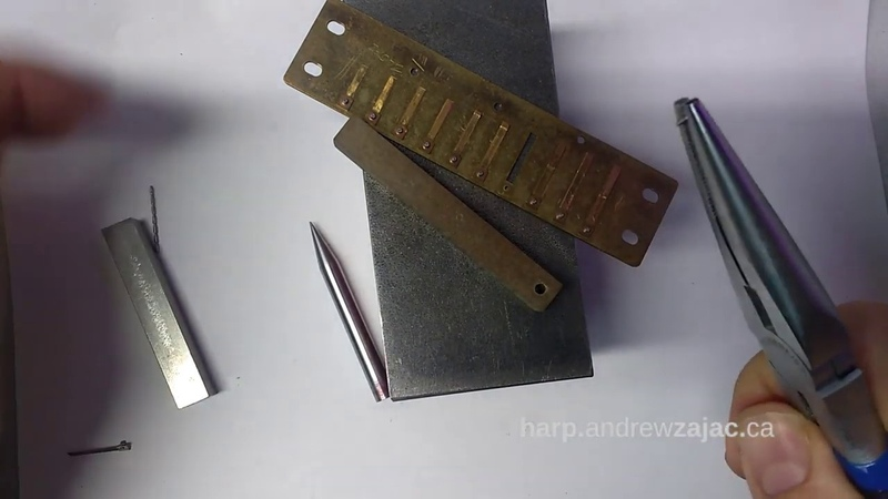 Harmonica reed replacement