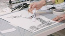 How to make Xerox transfer art – with Marlene Weisman   IN THE STUDIO