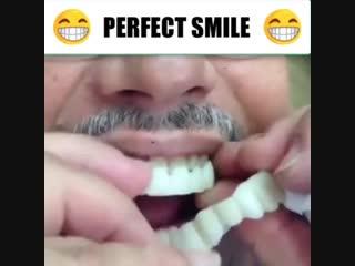 Идеальная улыбка за пару секунд!