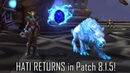 HATI RETURNS in Patch 8 1 5 How to Tame Hati