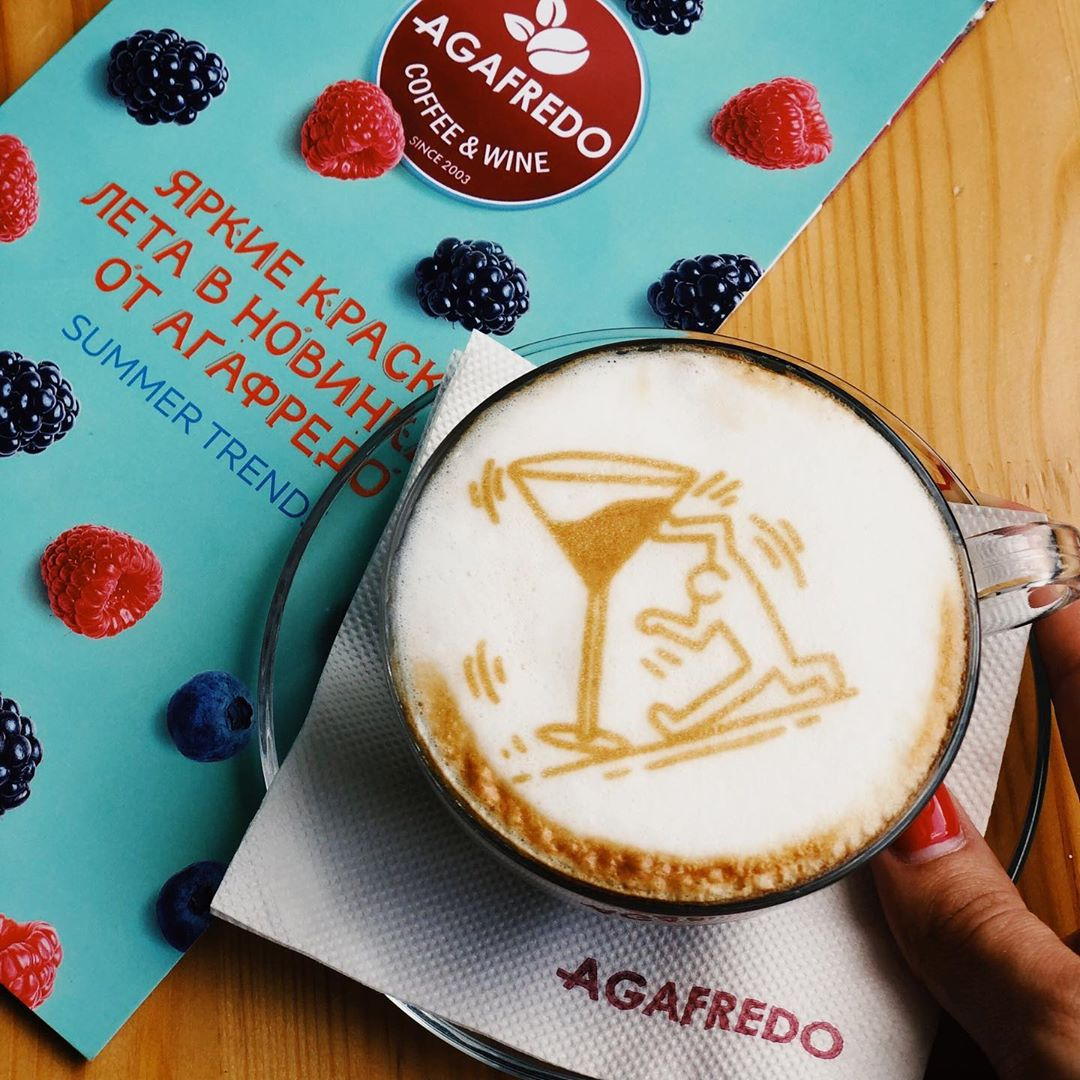 Кофейня «Агафредо» - Вконтакте