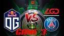 OG vs PSG.LGD GAME 3 GRAND FINAL DOTA 2 The International 2018 Highlits TI8 Theinternational2018