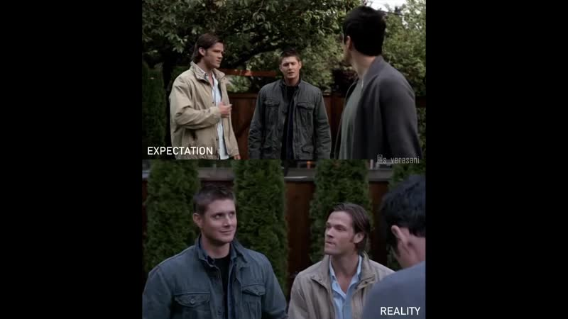 J2 TheWinchesters Expectation vs Reality Season4 SPN