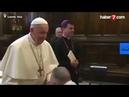 Papa yaptığı hareketle herkesi şok etti! Katolik dünyası ikiye bölündü HABERLER282