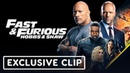 Fast Furious Hobbs Shaw Car Chase Exclusive Clip