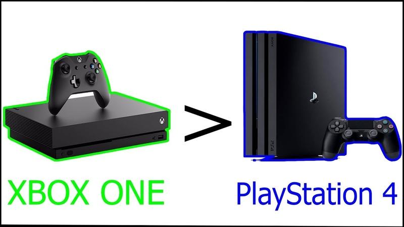 XBOX лучше PlayStation