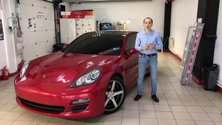 Porsche Panamera!!! Оклейка в Hexis