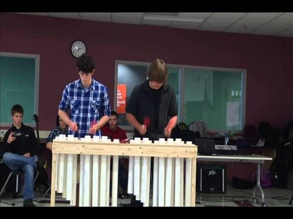 PVC Pipe Xylophone