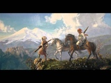 Circassian folk music from Caucasus mountains