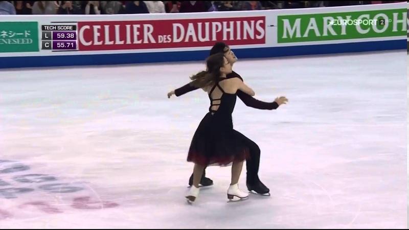 2016 Worlds Dance FD Maia Shibutani Alex Shibutani Fix You by Coldplay