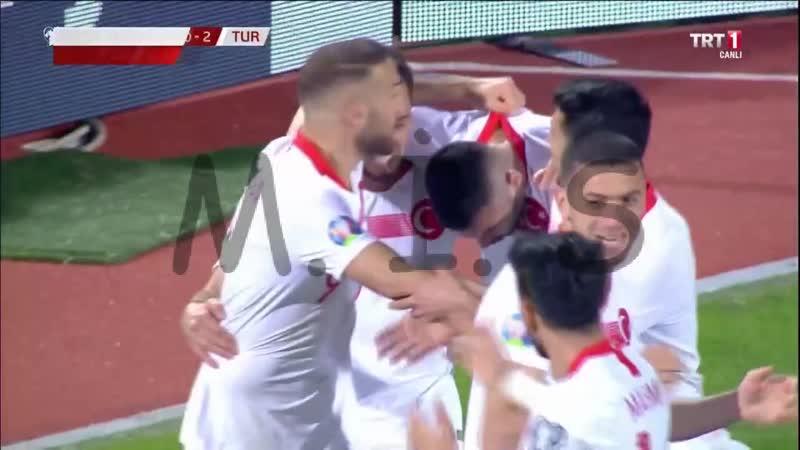 Arnavutluk 0-2 Türkiye -- 2020 UEFA Avrupa Futbol Şampiyonası Elemeleri H Grubu ilk maçı 2. devre