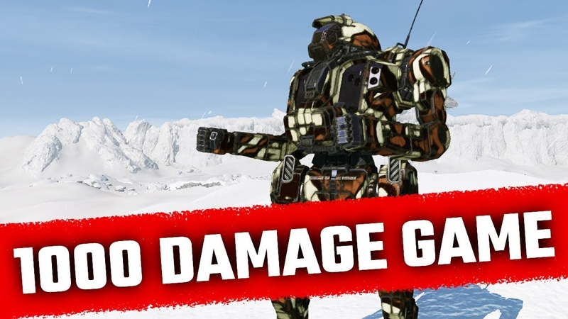 1000 Damage SRM Javelin - Mechwarrior Online Live Stream Highlight