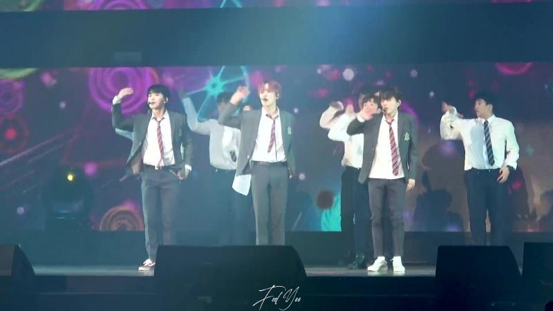 [VK][180825] MONSTA X fancam - No Reason @ THE 2ND WORLD TOUR 'The Connect' Encore in Seoul (D-1)